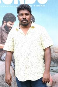 Director Athiyan Athirai @ Gundu Movie Audio Launch Stills