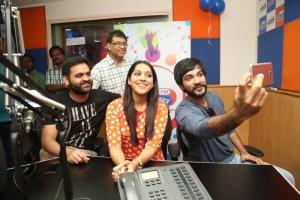Praveen Sattaru, Rashmi Gautam, Sidhu @ Guntur Talkies Promo Song Launch at Radio City Stills