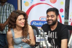 Shraddha Das, Praveen Sattaru @ Guntur Talkies Promo Song Launch at Radio City Stills