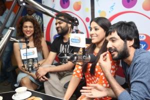 Shraddha Das, Praveen Sattaru, Rashmi Gautam, Sidhu @ Guntur Talkies Promo Song Launch at Radio City Stills