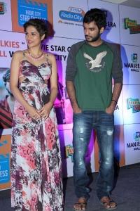 Shraddha Das & Sidhu @ Guntur Talkies Team celebrates Women's Day at Manjeera Mall