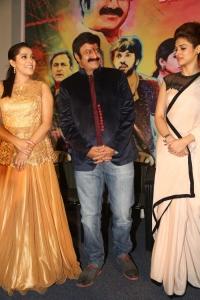 Rashmi Gautam, Balakrishna,  Shraddha Das @ Guntur Talkies Movie Trailer Launch Stills