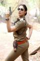 Actress Gurleen Chopra Police Getup Photos
