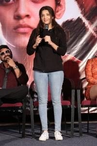 Actress Ritika Singh @ Guru Movie Success Meet Stills