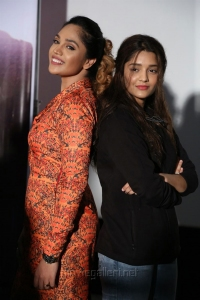 Mumtaz Sorcar, Ritika Singh @ Guru Movie Success Meet Stills