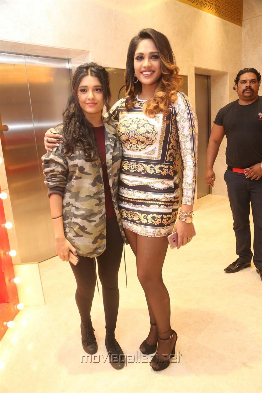 Ritika Singh, Mumtaz Sorcar @ Guru Trailer Launch Stills