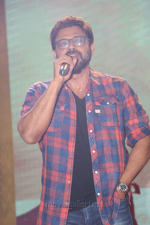 Victory Venkatesh @ Guru Trailer Launch Stills