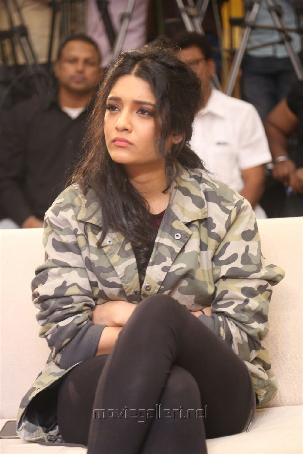 Actress Ritika Singh @ Guru Trailer Launch Stills