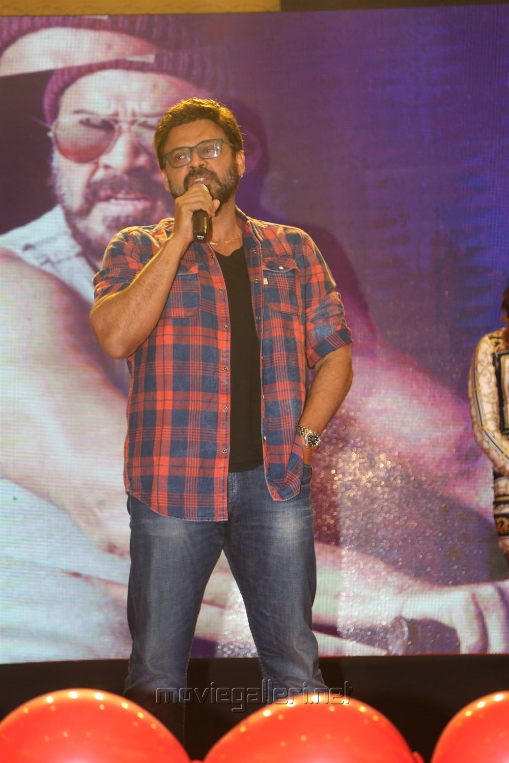 Victory Venkatesh @ Guru Trailer Launch Stills