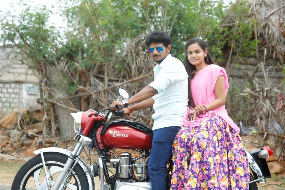 Guru Jeeva, Aara in Guru Utchathula Irukaru Movie Stills