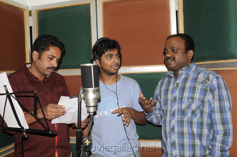 GV Prakash Kumar sings for Neerparavai movie