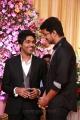 Actor Vijay at GV Prakash Kumar & Saindhavi Wedding Reception Photos