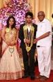 SP Muthuraman at GV Prakash Kumar & Saindhavi Wedding Reception Photos