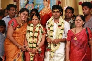 Singer Vinaya at GV Prakash Kumar Saindhavi Marriage Photos