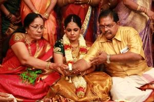 Anandhi, Saindhavi, Srivatsan @ Marriage Photos