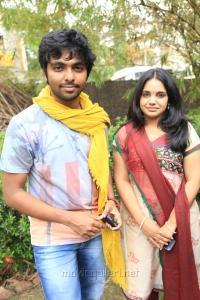 GV Prakash and Saindhavi Press Meet Stills