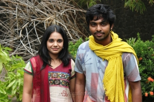 Saindhavi GV Prakash Press Meet Stills