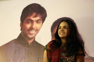 Singer Saindhavi Press Meet Stills