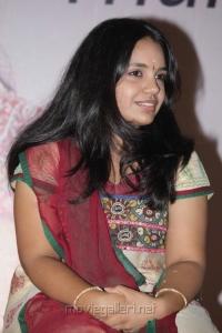 Tamil Singer Saindhavi Press Meet Stills