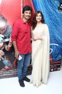 Jiiva, Natasha Singh @ Gypsy Movie Press Meet Photos