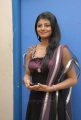 Telugu Actress Rakshita Hot Stills in Very Dark Violet Color Dress