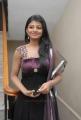 Actress Rakshitha Hot Stills in Very Dark Violet Color Dress