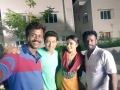 Balasubramaniem, Suriya, Amala Paul, Pandiraj @ Haiku Movie Shooting Spot Selfie Photos