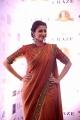 Actress Hamsa Nandini Saree Photos @ Dadasaheb Phalke Awards South 2019 Red Carpet