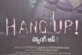 Hang Up Movie Audio Launch Stills