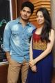 Sudhakar Komakula, Natalie @ Hang Up Movie Press Meet Stills