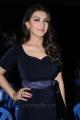 Tamil Actress Hansika Hot Stills in Dark Blue Dress