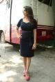 Actress Hansika Motwani Hot Stills in Dark Blue Dress