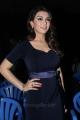 Actress Hansika Motwani in Dark Blue Dress Hot Stills