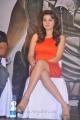 Actress Hansika Motwani Hot Photos in Orange Mini Skirt