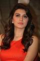 Hansika Motwani in orange dress at the press meet of Singam 2