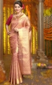 Hansika Motwani in Silk Saree Photoshoot for Chennai Silks Ad