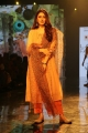 Actress Hansika Motwani walks ramp at Lakme Fashion Week 2020