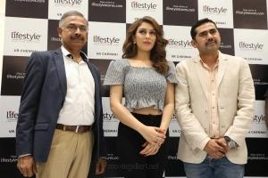 Actress Hansika launches Lifestyle Store at VR Mall Chennai Photos