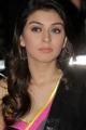 Actress Hansika Saree Latest Photos in Sleeveless Blouse