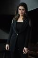 Actress Hansika Motwani Stilla in Womens Black Blazer