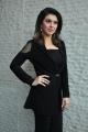 Actress Hansika Motwani Recent Pictures in Womens Black Blazer
