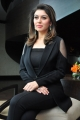 Actress Hansika Hot Pictures in Womens Black Blazer
