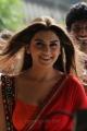 TVSK Actress Hansika Motwani Hot Stills in Red Saree