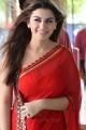 Hansika Motwani Hot Stills in Red Saree @ TVSK Movie