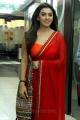 Theeya Velai Seiyyanum Kumaru Hansika Hot Red Saree Stills