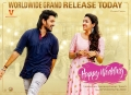 Sumanth Ashwin, Niharika Konidela in Happy Wedding Movie Release Today Posters