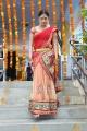 Galata Movie Heroine Haripriya in Red Transparent Half Saree