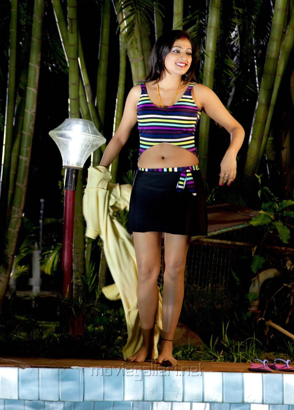 Atharvanam Actress Haripriya Hot in Swimming Pool Pics