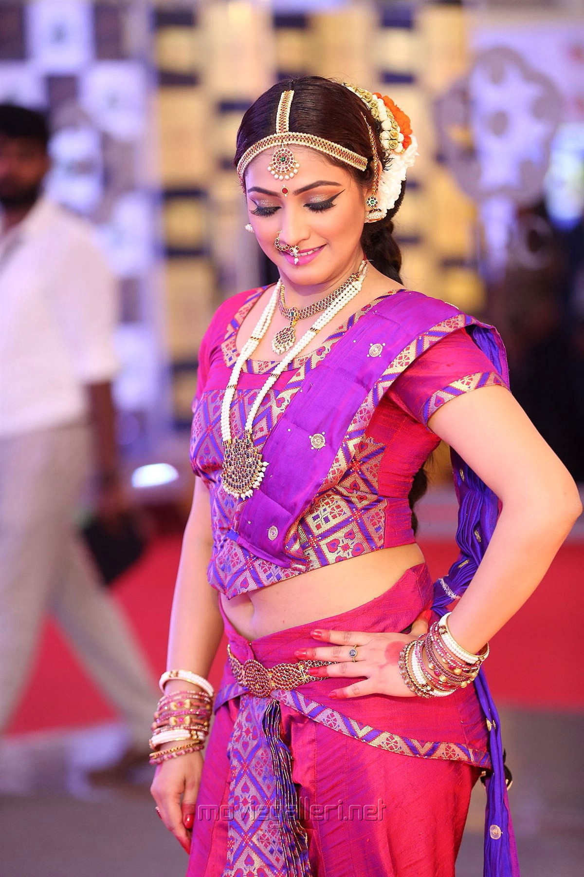 Actress Haripriya Stills @ Mirchi Music Awards South 2018