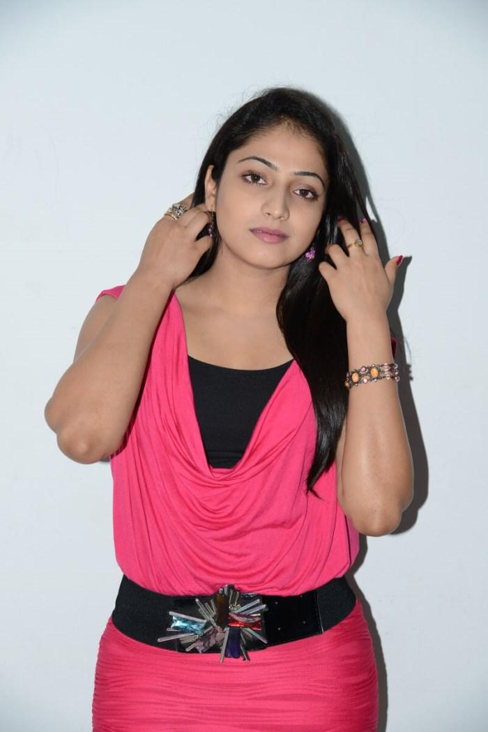 Actress Haripriya Stills @ Telugulo Naaku Nachani Padam Prema Press Meet